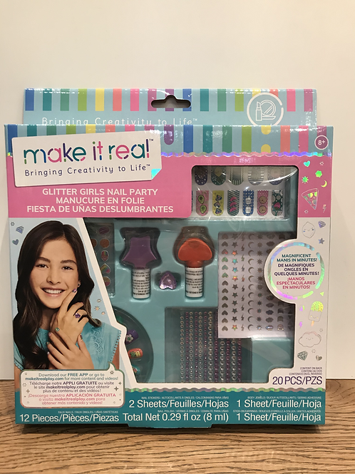 Make It Real: Glitter Girls Nail Party