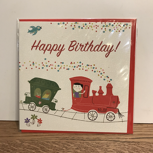 Card: Birthday (Train)