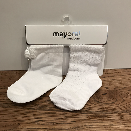 Mayoral: 9125 2 Pack - White