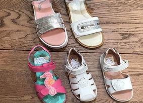 Garvalin girls sandals at Sid & Evie's