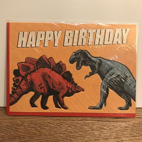 Card: Birthday (Dinosaur)
