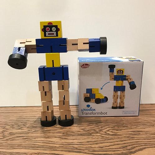 Tobar: Wooden Transformbot