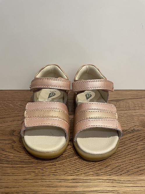 Bobux: I-Walk Hampton Open Toe Sandal - Rose Gold
