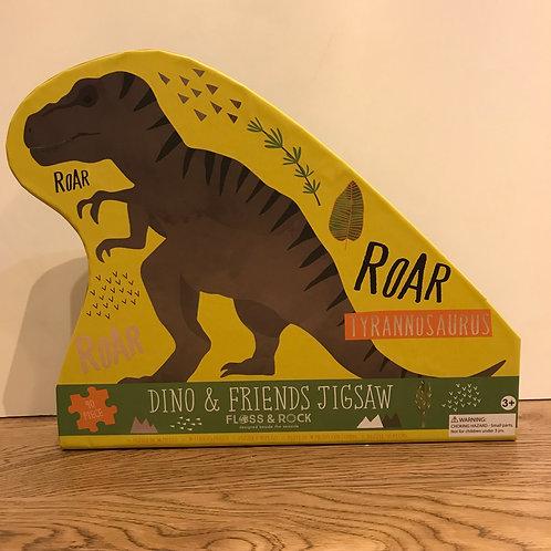 Floss & Rock:Dino Puzzle 40 Piece Puzzle