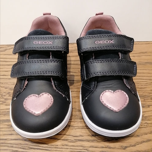 Geox: New Flick - Navy Hearts Shoes