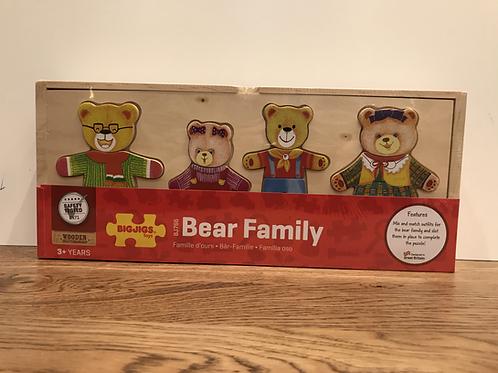 BigJigs: Bear Family Puzzle