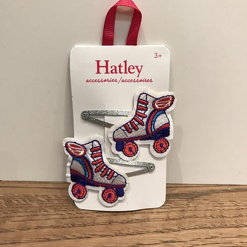 Hatley: Hair Clip x2 (Rollerskates)