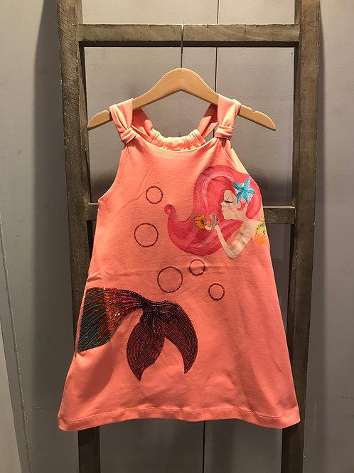Mayoral: Mermaid - Peach Dress