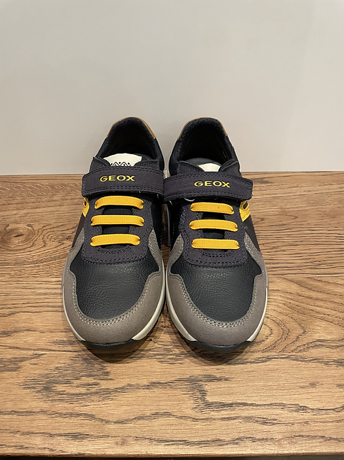 Geox: J.Alfier J846NC - Navy/Yellow