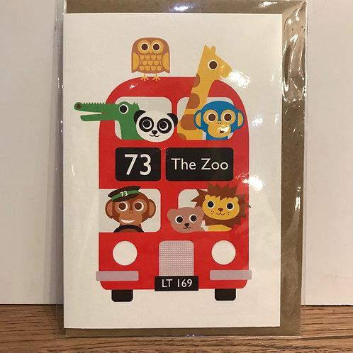 Card: Birthday (Zoo)