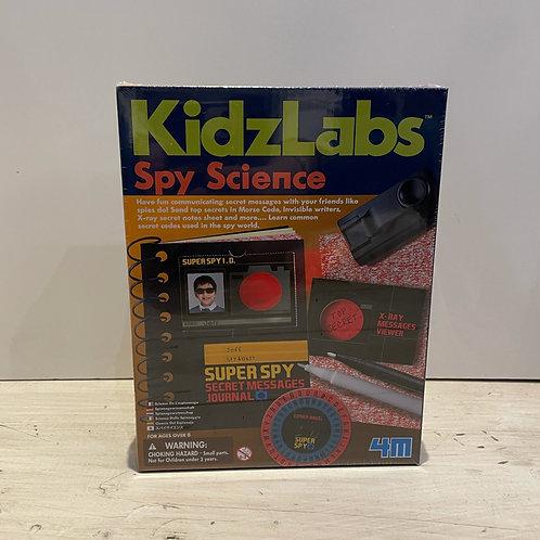 Kidz Labs: spy science kit