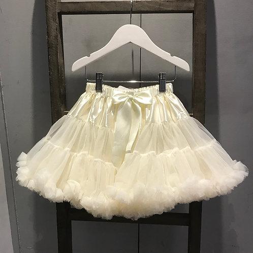 Petti Skirt - Cream