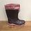 Thumbnail: Splash: Fleece-Lined Wellies (Pink/Purple)