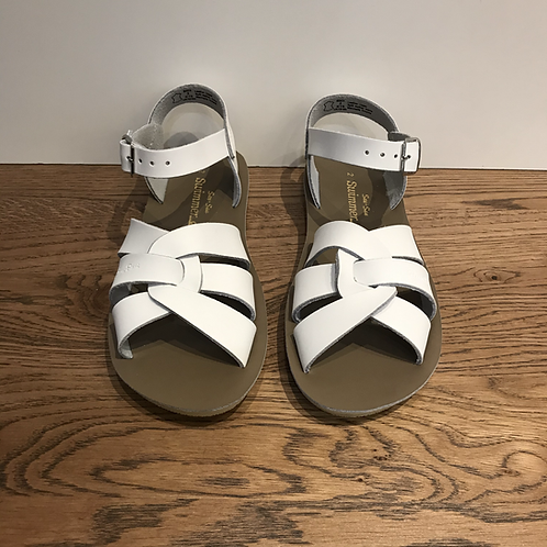 Salt Water: Swimmer - White Sandals