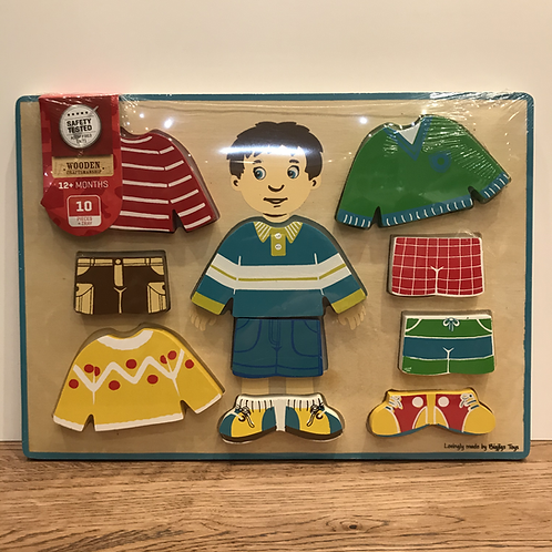 BigJigs: Chunky 10 Piece Dress Up Puzzle