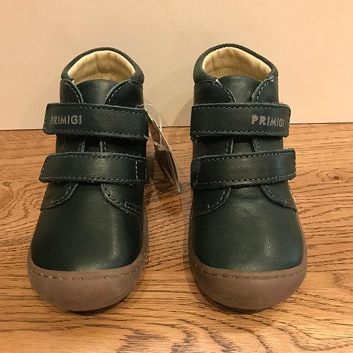 Primigi: Green Leather Ankle boot