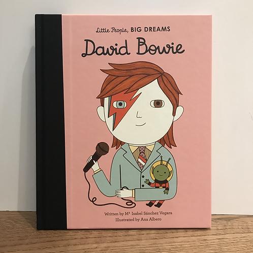 Little People Big Dreams: David Bowie Book