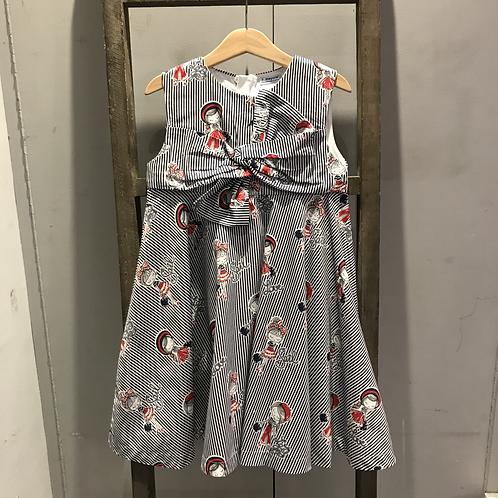 Mayoral: 3938 Navy Strip Dress