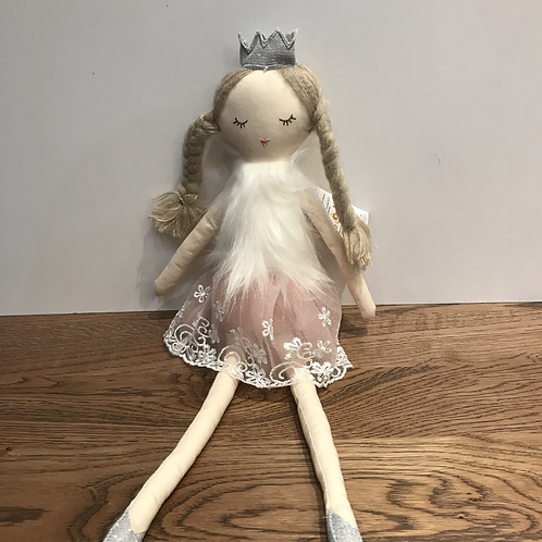 Wilberry: Soft Toy - Ballerina with Crown