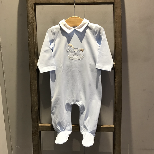 Mayoral: Double Pack Baby Grow - Blue