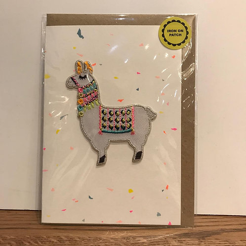 Card: Birthday (Lama)