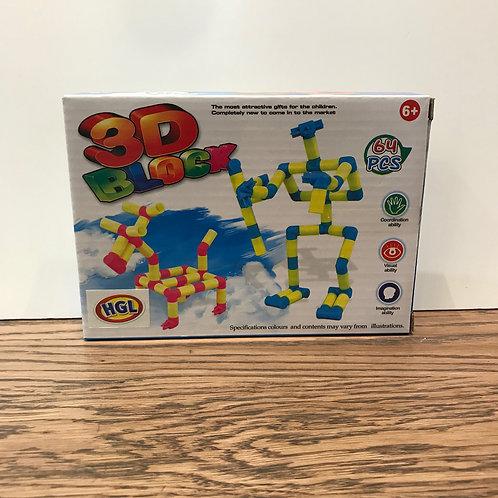 3D Mini Building Block
