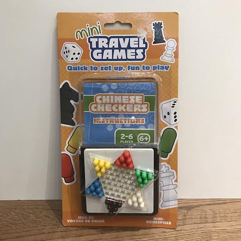 Chinese Checkers Mini Travel Game
