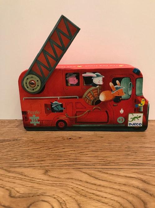 Djeco: Fire Engine Puzzle