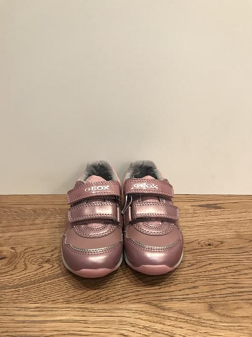 Geox: B Pavlis B041SA - Dark Pink/Silver