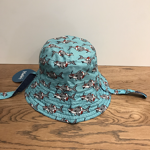 Hatley: Reversible Bucket Hat (Sharks)
