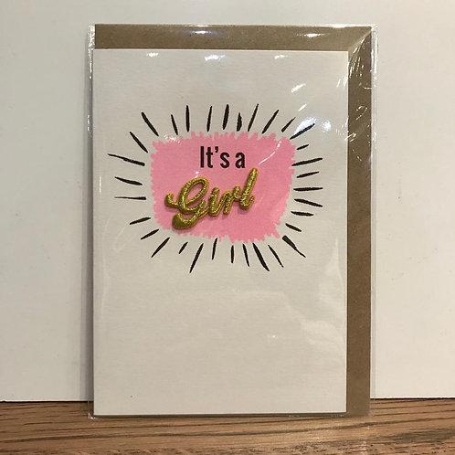 Card: New Baby (Girl)