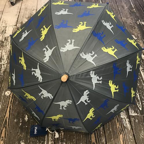 Hatley: Dinosaur umbrella (Grey)