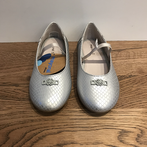 Mayoral: Party Shoes - Silver