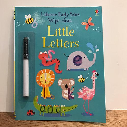 Little Letters Wipe Clean