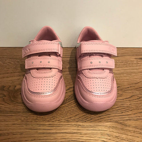 Clarks: Ath Shell Pink Trainer