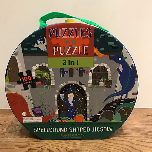 Floss & Rock: Spellbound 3 in 1 Puzzle