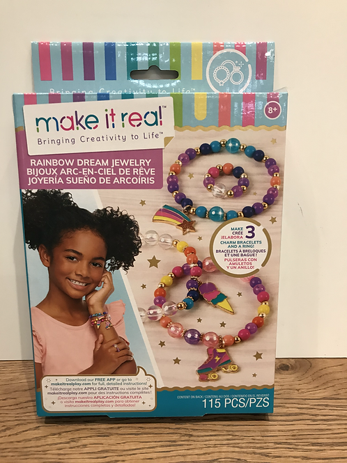 Make It Real: Rainbow Dream Jewellery
