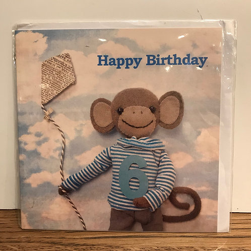Card: Birthday (Age 6)