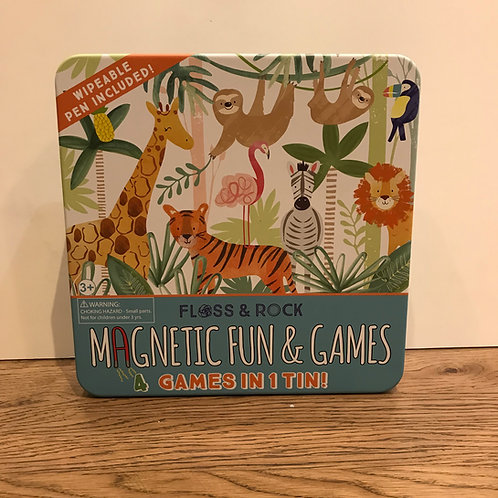 Floss 7 Rock:Jungle Magnetic 4 in 1 games