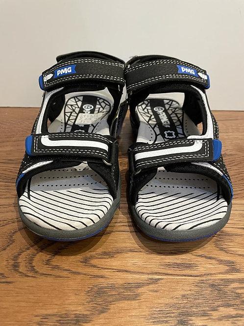 Primigi: Open Toe Sandal - Black/Blue
