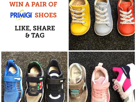 WIN A FREE PAIR OF PRIMIGI SHOES!!!