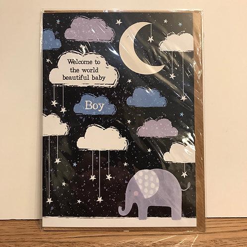 Card: New Baby (Boy)