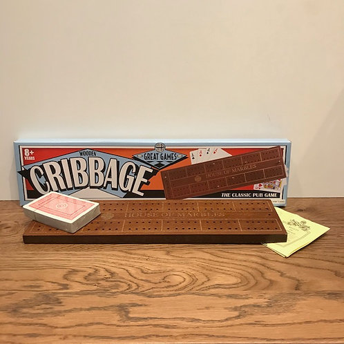 House of Marbles: Wooden Cribbage Game