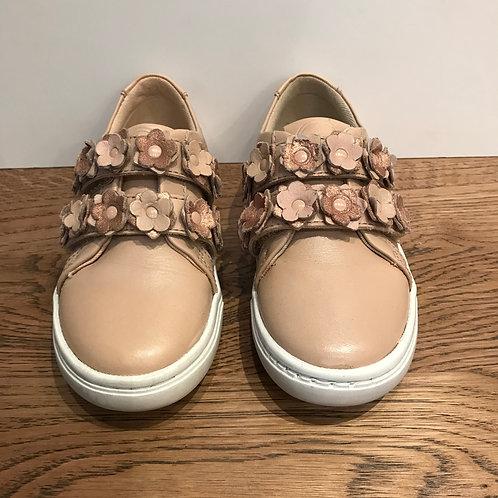 Mayoral: Flower Velcro - Pink Shoe