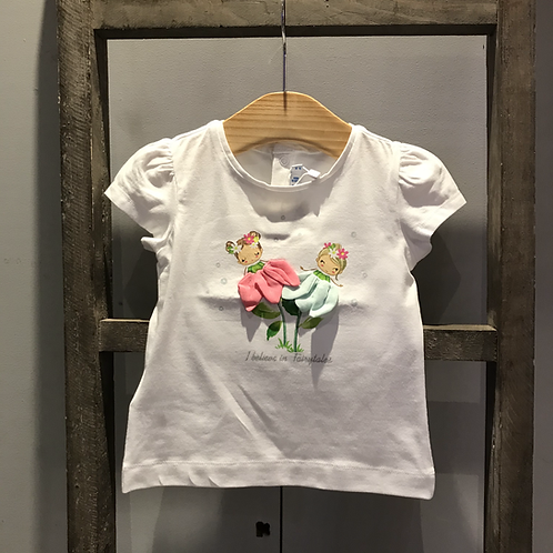 Mayoral: Fairy T-Shirt - White