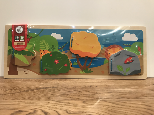 BigJigs: Flap Panel (Jungle)