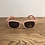 Thumbnail: Lollipop: White Floral -Baby Sunglasses