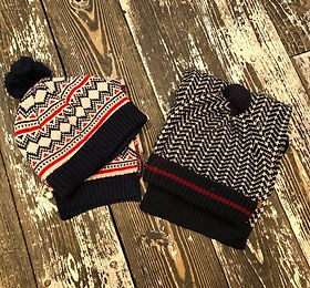 Boys winter hats at Sid & Evie's in Sout