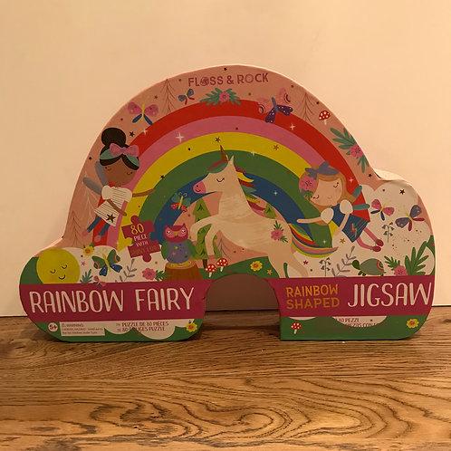 Floss & Rock: Rainbow Fairy 80 Piece Puzzle