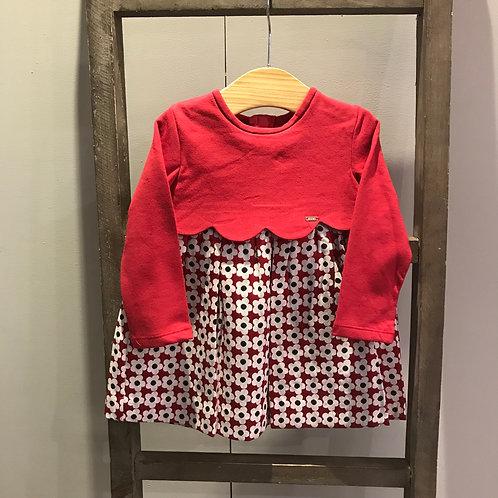 Mayoral 2911: Red Flower Girls Dress